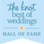 Winner of The Knot Best of Weddings Hall Of Fame